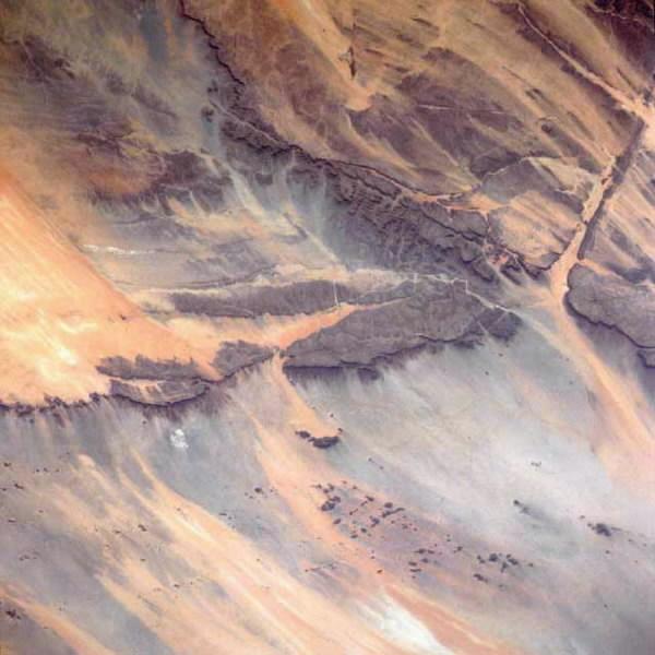 Passe d'Amogjar - Satellitenbild